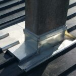 Tour de cheminée zinc